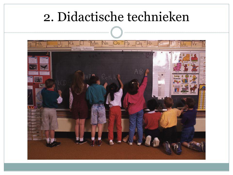 2. Didactische technieken