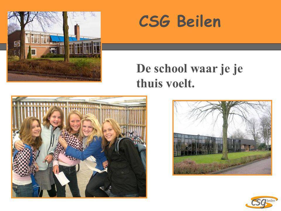 De school waar je je thuis voelt. CSG Beilen