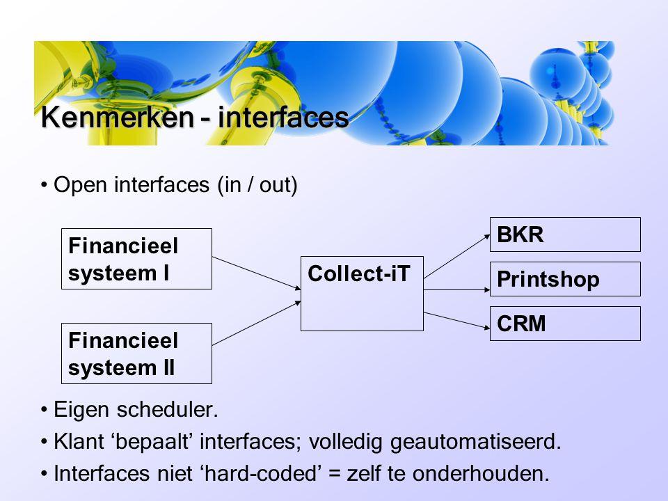 • Open interfaces (in / out) • Eigen scheduler.