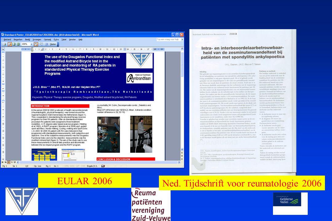 EULAR 2006 Ned. Tijdschrift voor reumatologie 2006