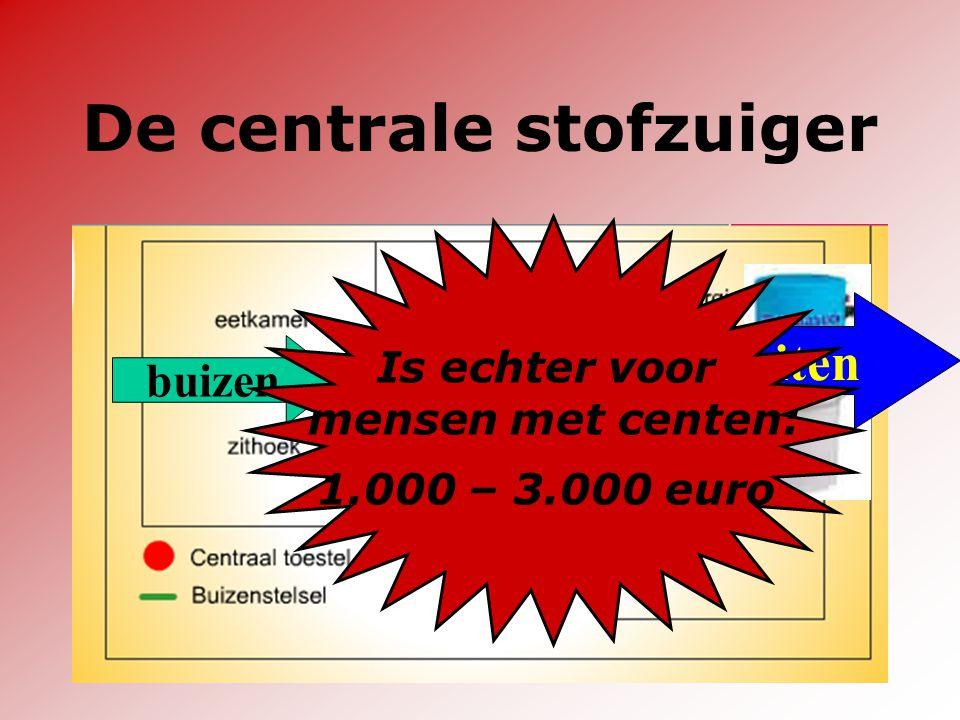 Dr. Harrie Dewitte - genk.pvda.be De centrale stofzuiger buizen Stof buiten Is echter voor mensen met centen: 1.000 – 3.000 euro