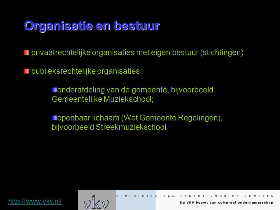 Organisatie en bestuur privaatrechtelijke organisaties met eigen bestuur (stichtingen) publieksrechtelijke organisaties: onderafdeling van de gemeente