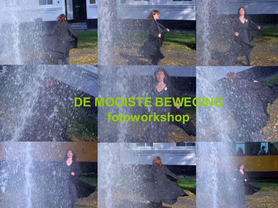 DE MOOISTE BEWEGING fotoworkshop