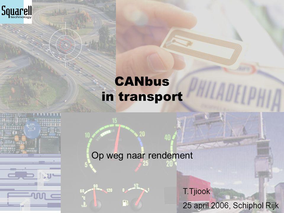 Squarell en ICERA  Squarell »Ontsluit de CANbus technologie »Ontwikkelt nieuwe mogelijkheden »Kennis en kunde  Icera »Meest krachtige vorm van CANbus verwerking »Maatpak in plaats van confectie »Terugkoppelen naar chauffeur en thuisbasis