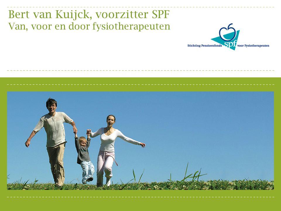 SPF - Zelfstandig gevestigden - In loondienst bij praktijk Pensioenfonds Zorg & Welzijn Fysiotherapeuten in dienst van medische instelling ABP Fysiotherapeuten bij een academisch ziekenhuis Pensioenregelingen voor fysiotherapeuten (2 e pijler)