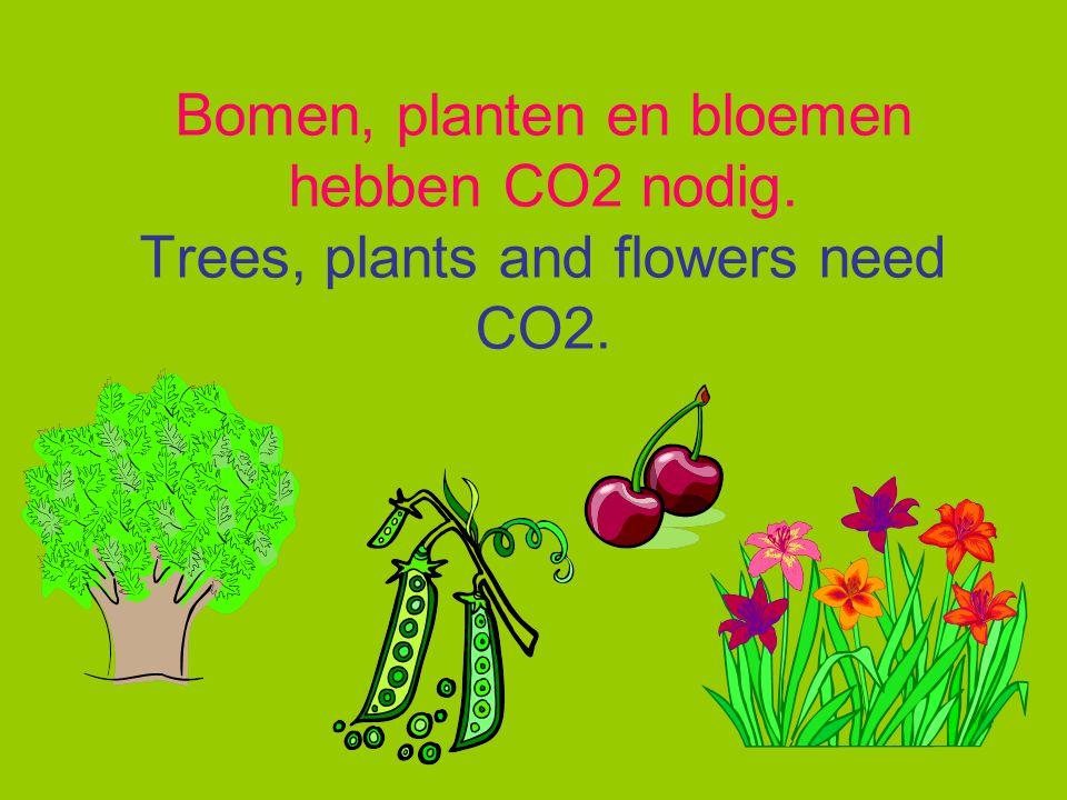 CO2 uitstoot door; CO2 emissions;