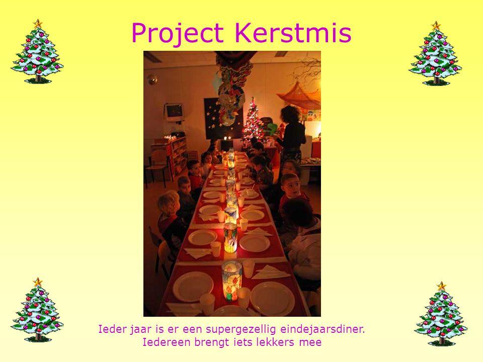 Project Sinterklaas December 2009: heel veel knutselen