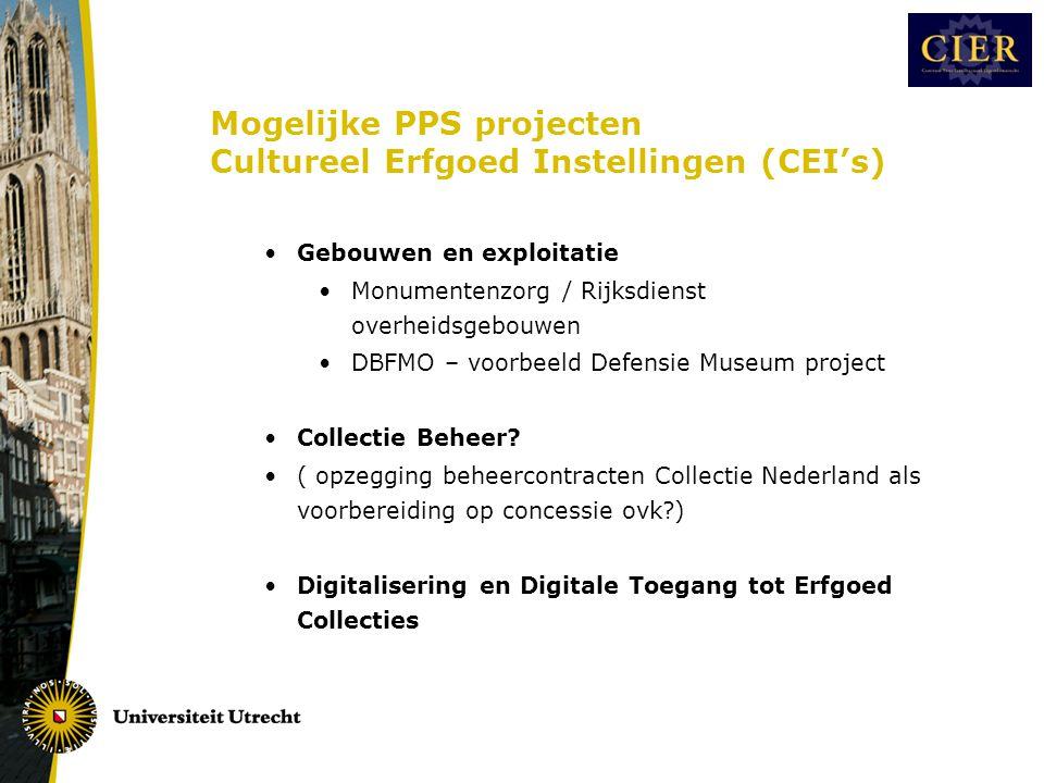 III.1 Algemene regels marktactiviteiten cultureel erfgoed instellingen •EU •publieke CEI = overheidsbedrijf •Mededinging artt.