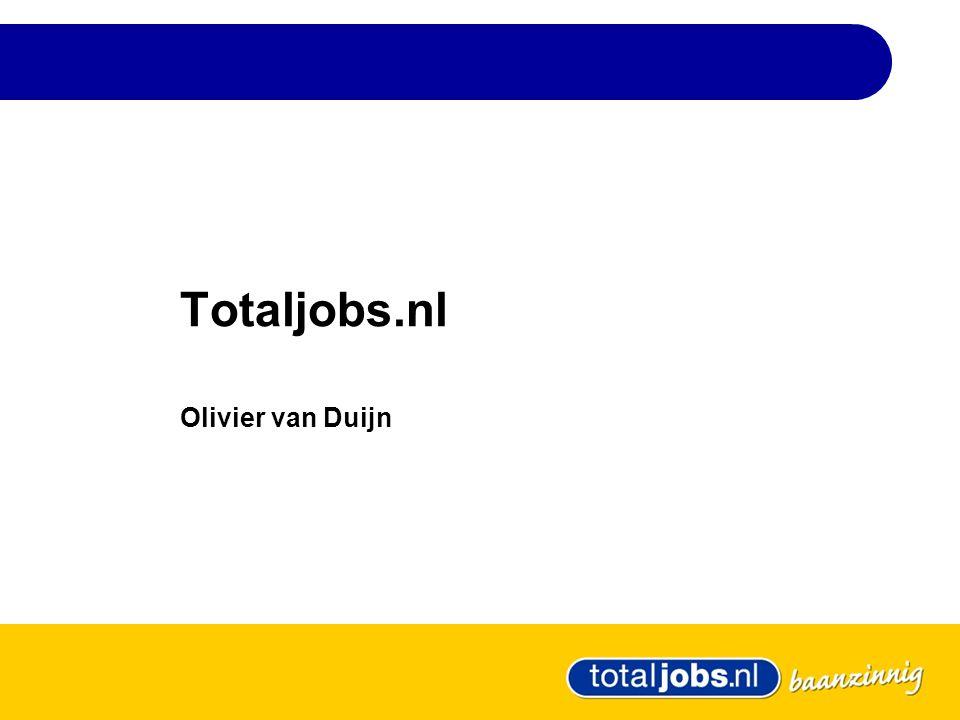 Totaljobs.nl Olivier van Duijn