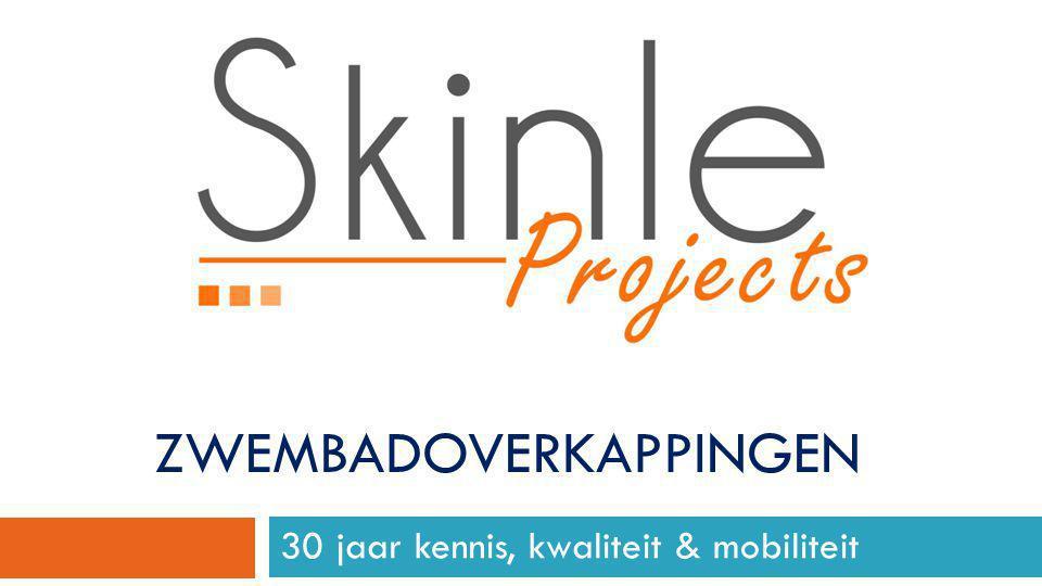 Skinle Cover Systems Het team van Skinle Cover Systems realiseert reeds meer dan dertig jaar aluminium overkappingen voor allerlei toepassingen.