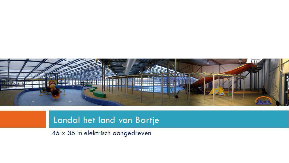 Landal het land van Bartje 45 x 35 m elektrisch aangedreven