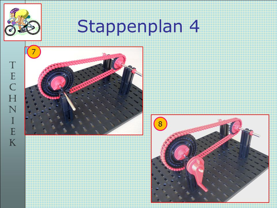 TECHNIEKTECHNIEK Stappenplan 4 7 8