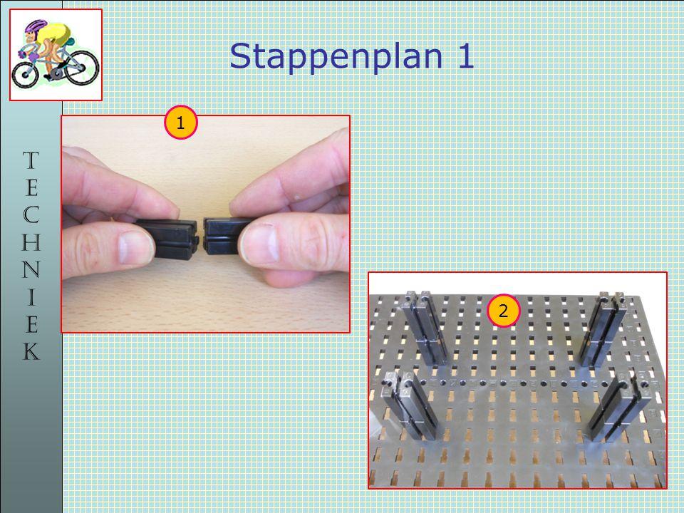 TECHNIEKTECHNIEK Stappenplan 1 1 2