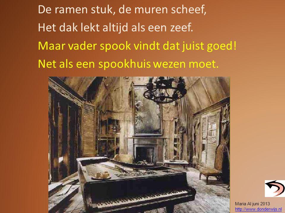 Hoe-hoei, Boe-boe. Hoe-hoei, Boe-boe. Maria Al juni 2013 http://www.donderwijs.nl