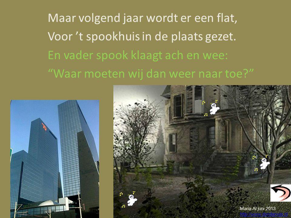 Aaaaa-ach, Boe-boe. Aaaaa-ach, Boe-boe. Maria Al juni 2013 http://www.donderwijs.nl
