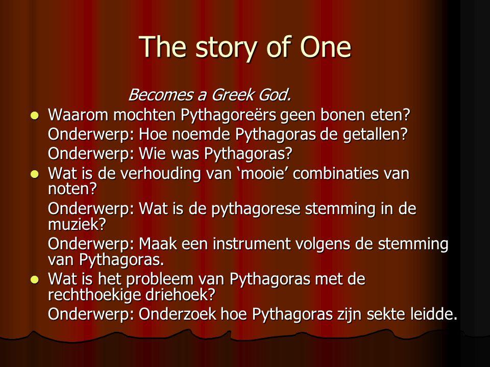 The story of One De Pythagoreërs kenden ook bevriende getallen.