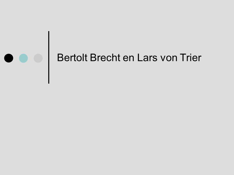 Bertolt Brecht (1898 – 1956) • Episch theater • ' Het kleine Organon voor het theater ' (1948) • Driestuiveropera • Moeder Courage en haar kinderen • De Kaukasische Krijtkring De mens en de wereld veranderen en de mens kan de wereld veranderen.