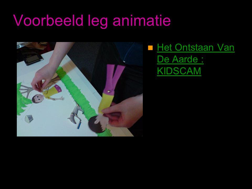 Voorbeeld leg animatie  Het Ontstaan Van De Aarde : KIDSCAM Het Ontstaan Van De Aarde : KIDSCAM