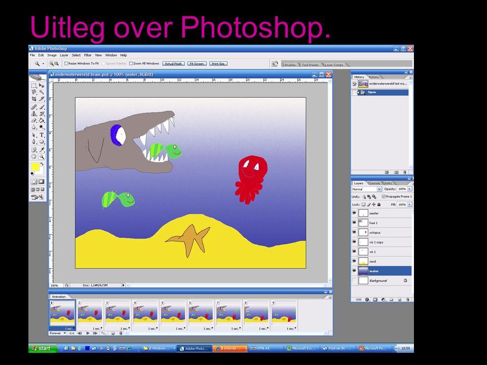Uitleg over Photoshop.