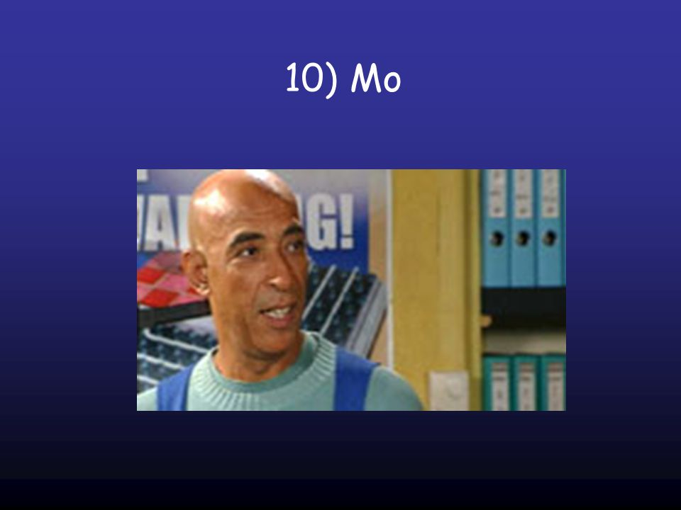 10) Mo