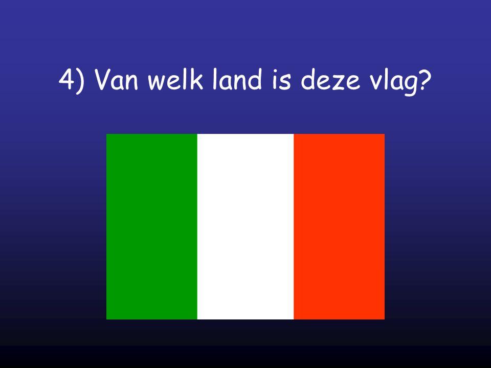 4) Van welk land is deze vlag?