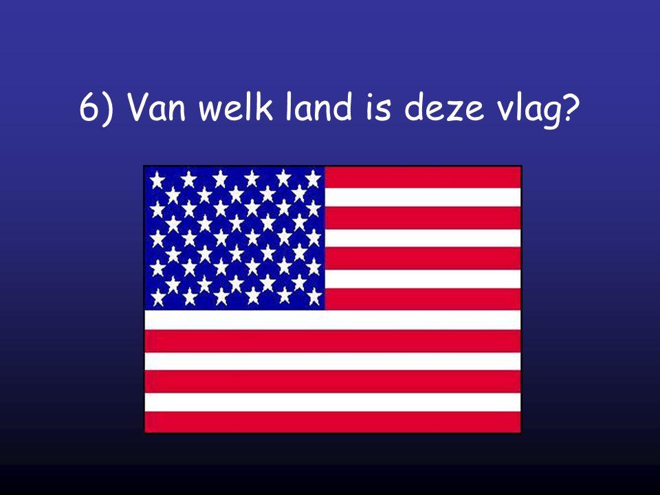 6) Van welk land is deze vlag?
