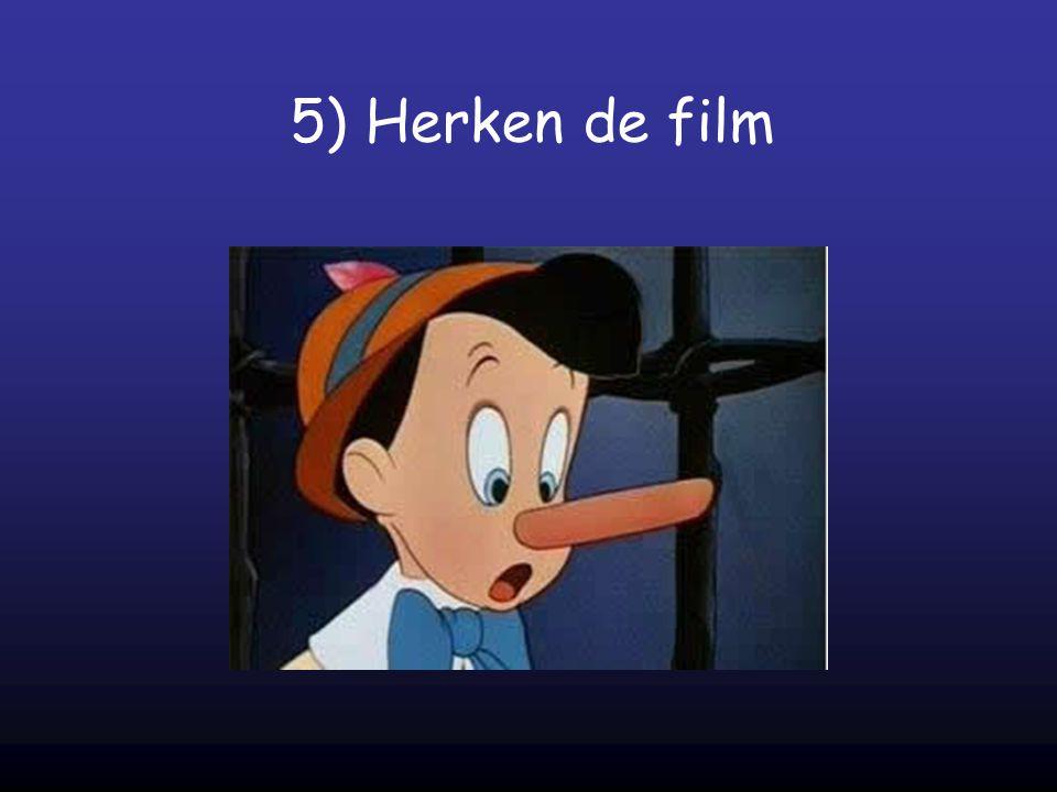 5) Herken de film