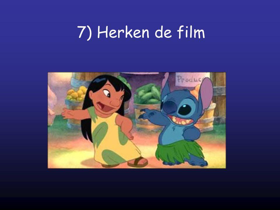 7) Herken de film