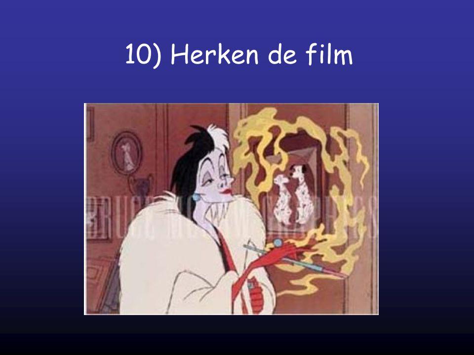 10) Herken de film