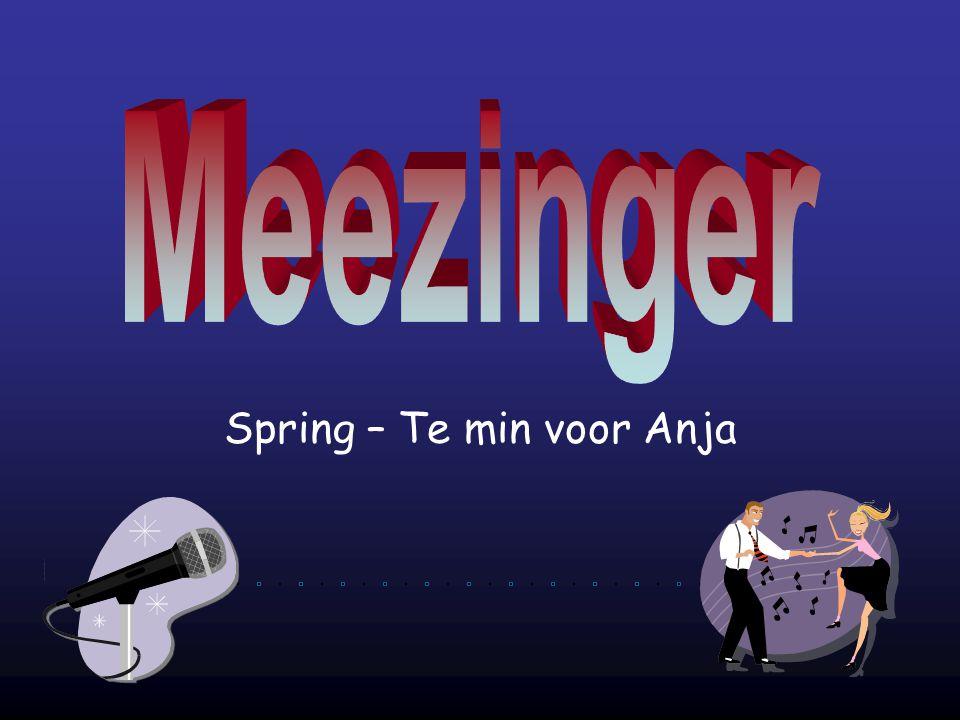Spring – Te min voor Anja