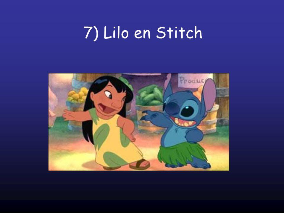 7) Lilo en Stitch