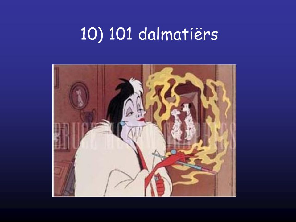 10) 101 dalmatiërs