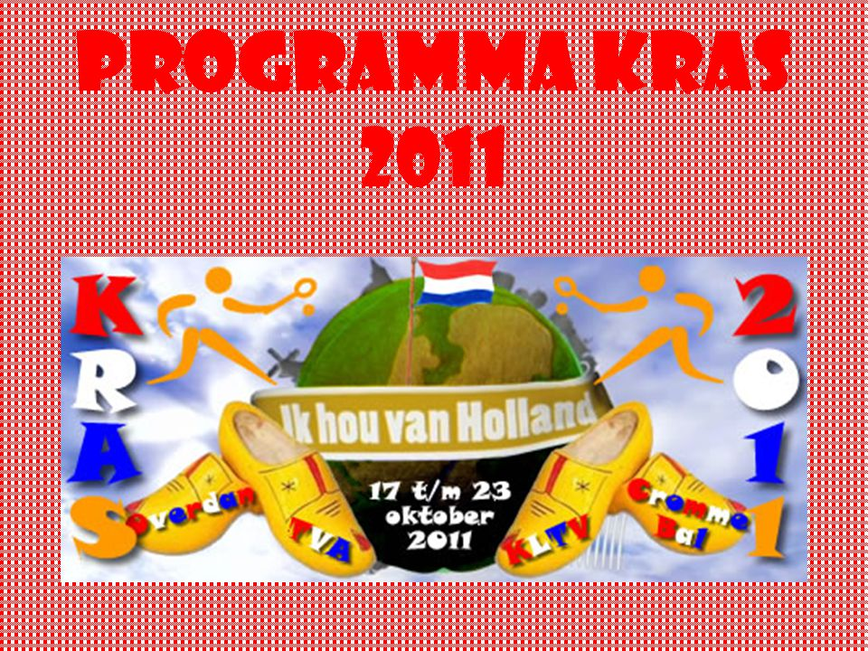 Programma kras 2011