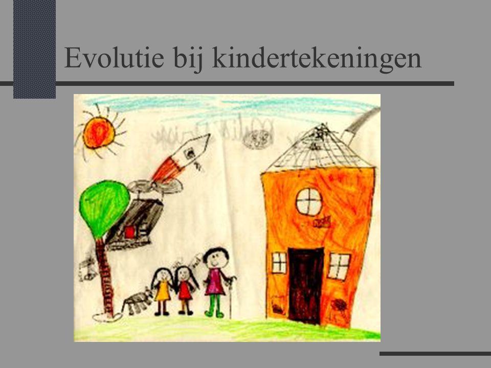 Evolutie bij kindertekeningen