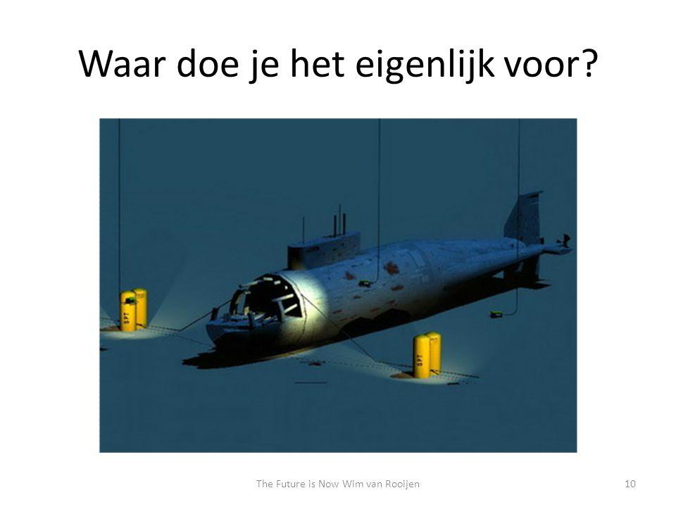 Waar doe je het eigenlijk voor 10The Future is Now Wim van Rooijen