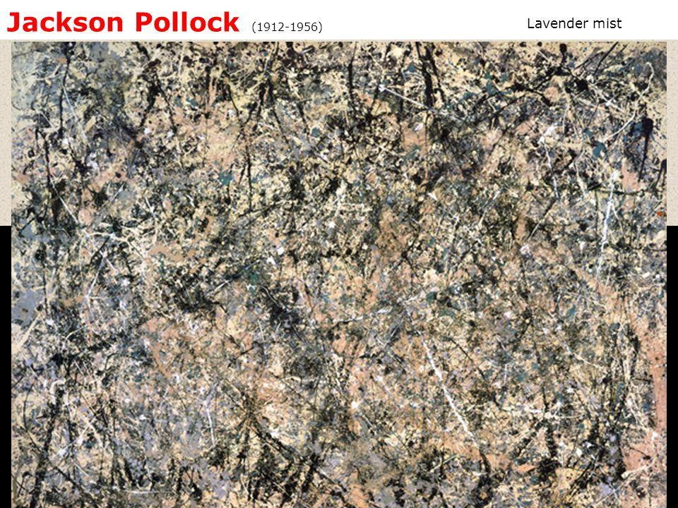 Jackson Pollock (1912-1956) Lavender mist