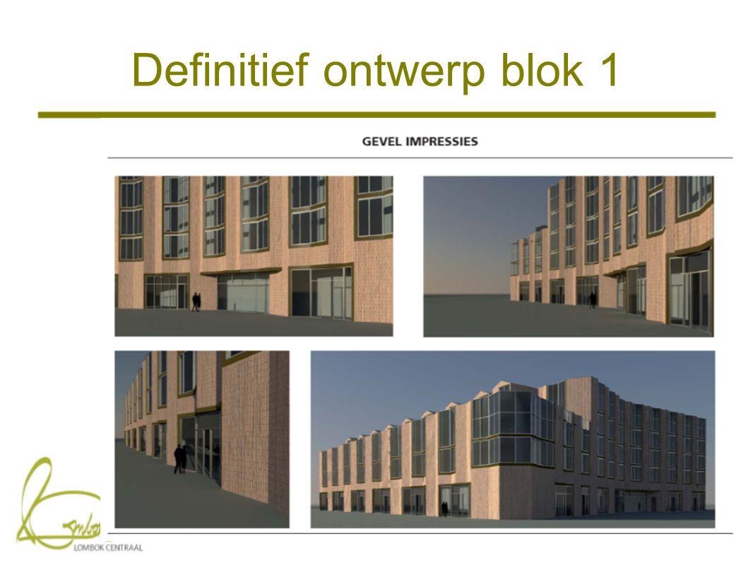 Definitief ontwerp blok 1