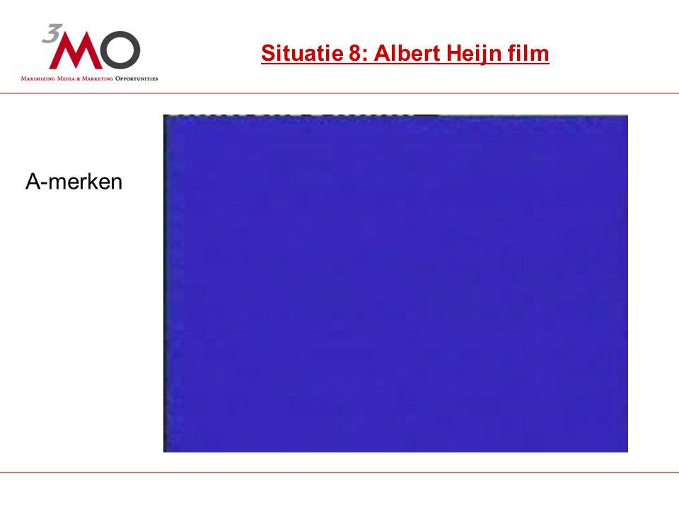 12 Situatie 7: Rabobank uitingen Situatie 8: Albert Heijn film A-merken