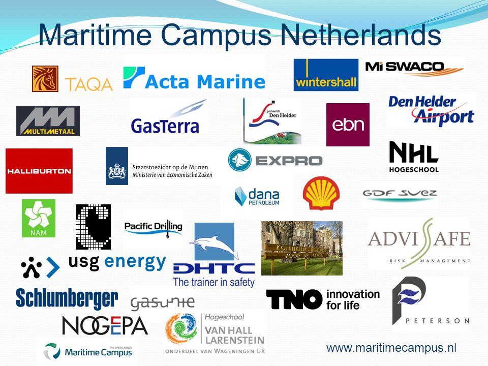 Maritime Campus Netherlands www.maritimecampus.nl