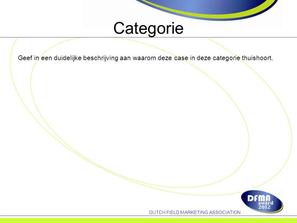 DUTCH FIELD MARKETING ASSOCIATION Tevredenheid opdrachtgever Geef een duidelijk overzicht van de evaluatie met de opdrachtgever en benoem de punten die zijn geëvalueerd en welke doelstellingen zijn behaald.