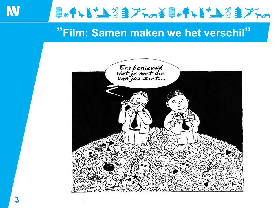 """3 """" Film: Samen maken we het verschil """""""