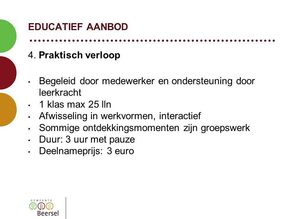 EDUCATIEF AANBOD 4.