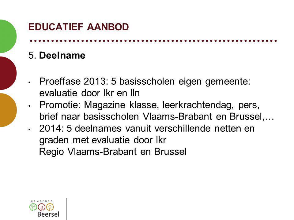 EDUCATIEF AANBOD 5.