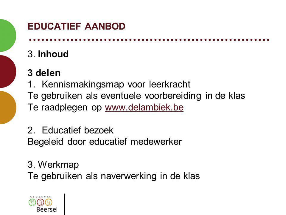 EDUCATIEF AANBOD 3.