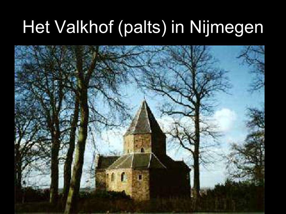 Het Valkhof (palts) in Nijmegen