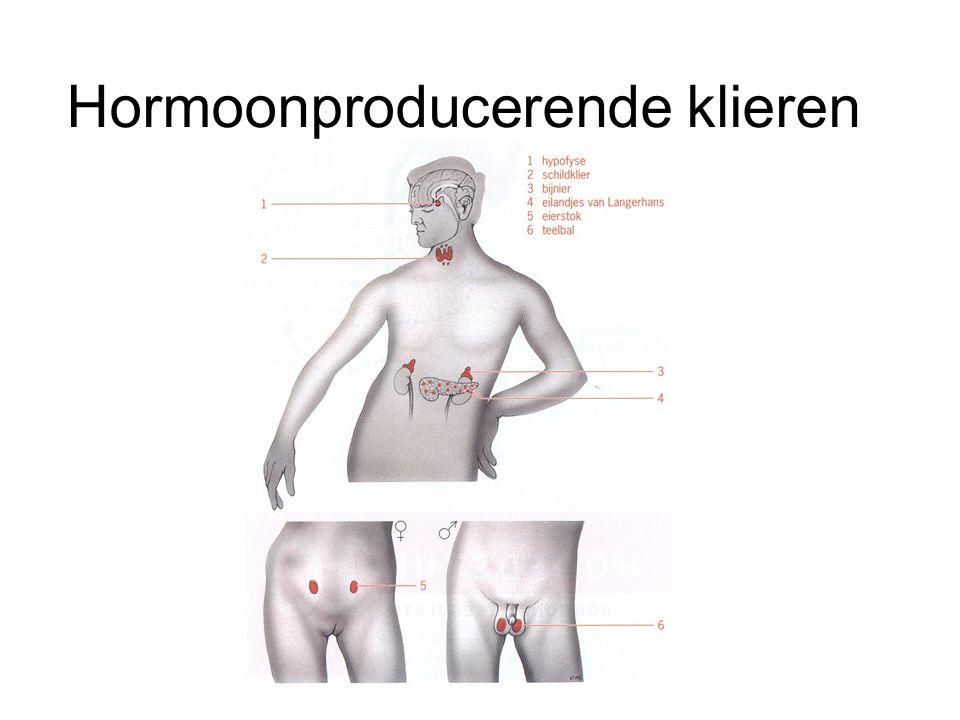 Hormoonproducerende klieren