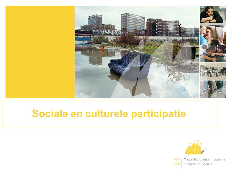 Sociale en culturele participatie
