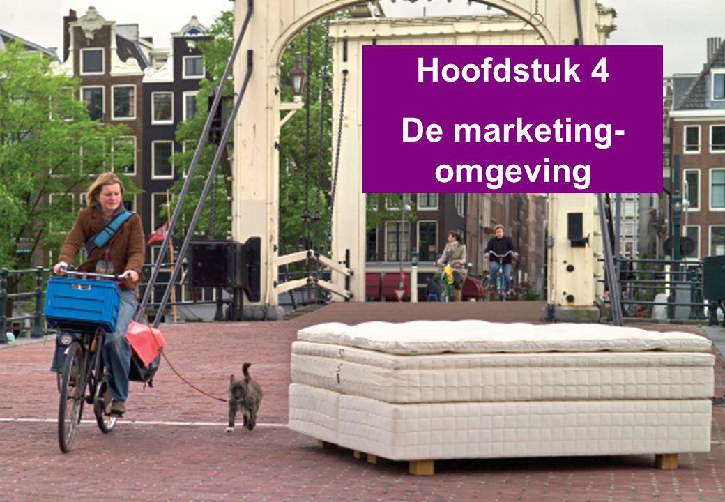 Hoofdstuk 4 De marketing- omgeving