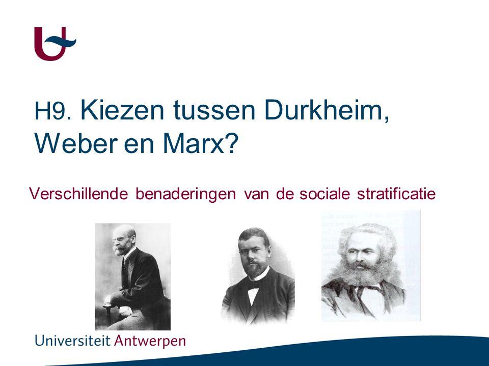 2 Beoogde leercompetenties •Het sociologische concept sociale stratificatie met eigen woorden kunnen omschrijven.