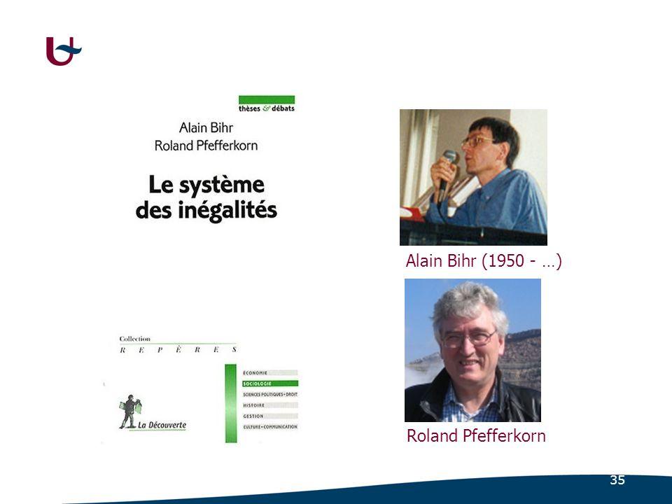 35 Roland Pfefferkorn Alain Bihr (1950 - …)